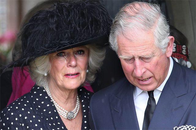 Камилла Шанд и принц Чарльз.