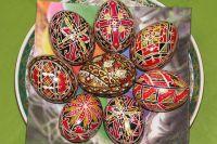 Пасхальное яйцо - один из символов Светлой Пасхи.