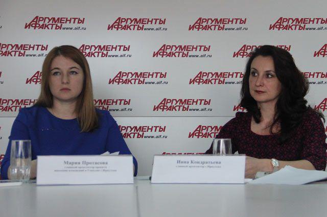 Мария Протасова и Инна Кондратьева