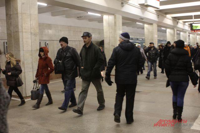 Новосибирцы стали меньше ездить в метро