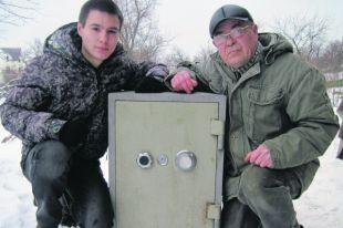 Владимир Портянко с сыном
