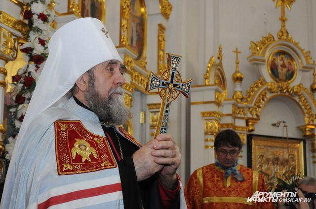 Митрополит Омский и Таврический Владимир совершит крестный ход.