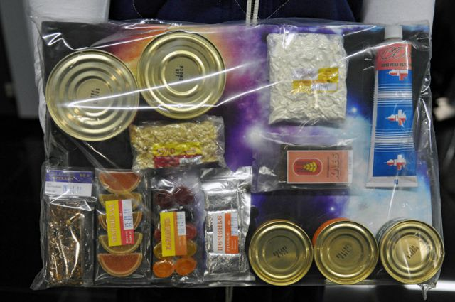 Всего в России создано около 300 «неземных» спецпродуктов, сейчас в меню - 200 блюд.