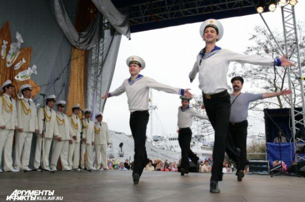 Гала-концерт на Дне Селедки всегда проходит с размахом.