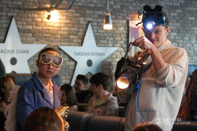 Фестиваль любительского кино в Омске открыт.