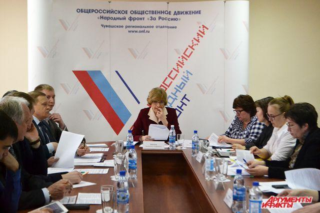 Общероссийский народный фронт подвел итоги работы в Свердловской области