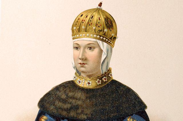 Мария Милославская.