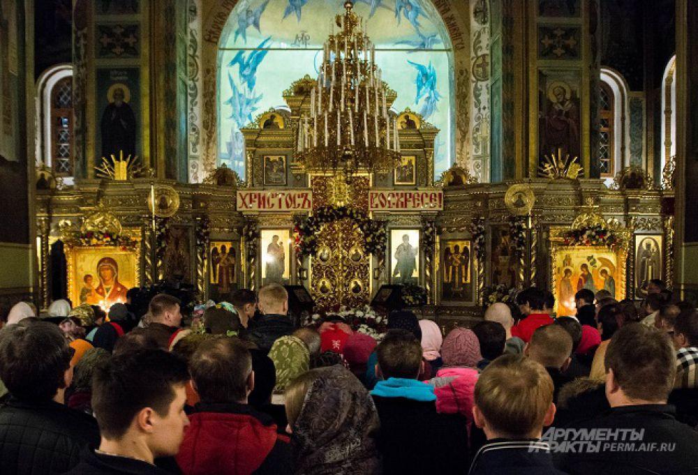 На мероприятии собралось порядка 100 христиан.