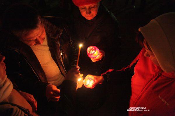Зажжение свечей