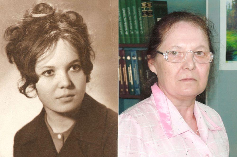 Участинца №13. Нина Розова в 22 года и в 66 лет.