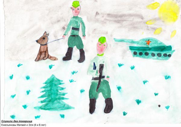 Участник №7. Емельяновы Матвей и Эля,  Мишелёвский детский сад №15