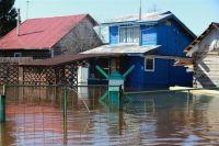 В Омской области начался паводок.