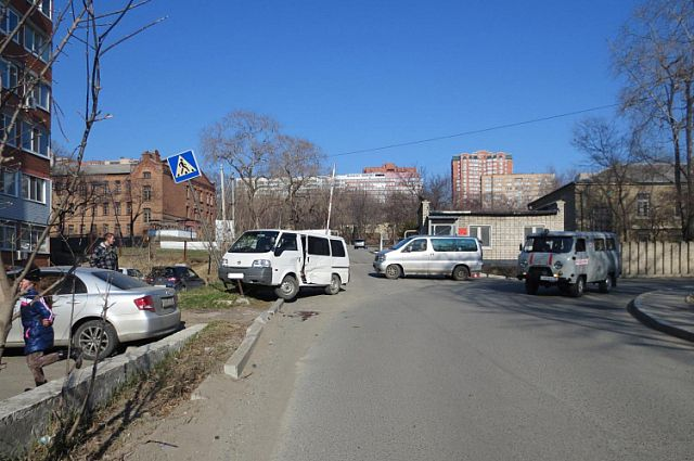 ДТП на улице Давыдова.