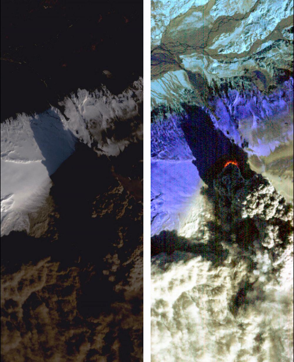 Снимок из космоса.