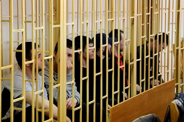 Во время оглашения приговора в Приморском суде.