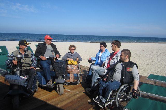 Пляжи для маломобильных групп населения появятся в Балтийске и Пионерском.