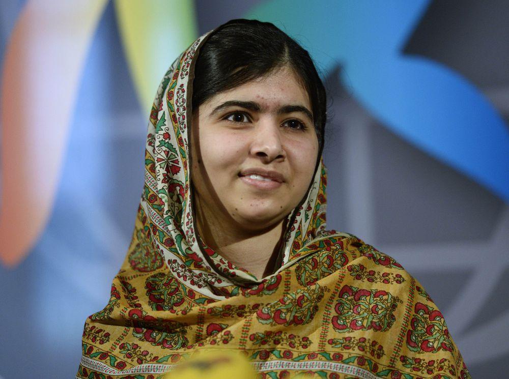 8.  пакистанская правозащитница, выступающая за доступность образования для женщин во всём мире, В 2014 году стала лауреатом Нобелевской премии мира