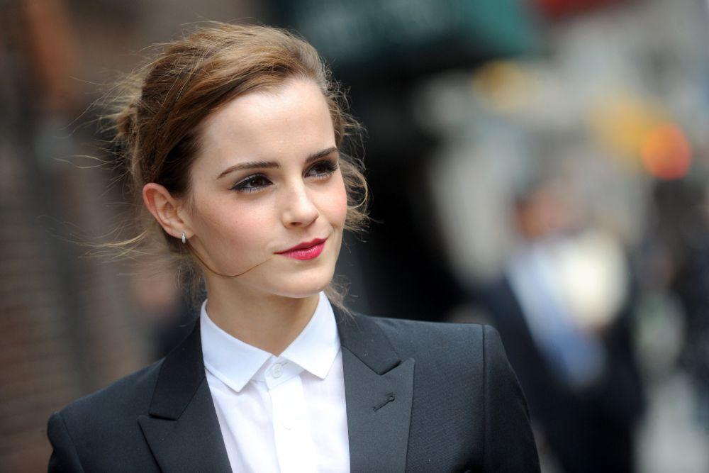 6. Эмма Уотсон, 24-летняя британская актриса, ставшая известной благодаря роли Гермионы в фильмах о Гарри Поттере, в 2014 году снялась лишь в одном фильме - Ной