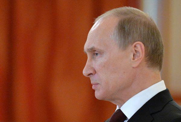 1. Владимир Путин, президент Российской Федерации