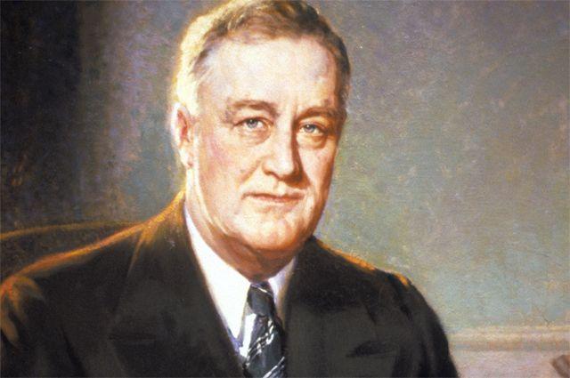 Франклин Рузвельт.