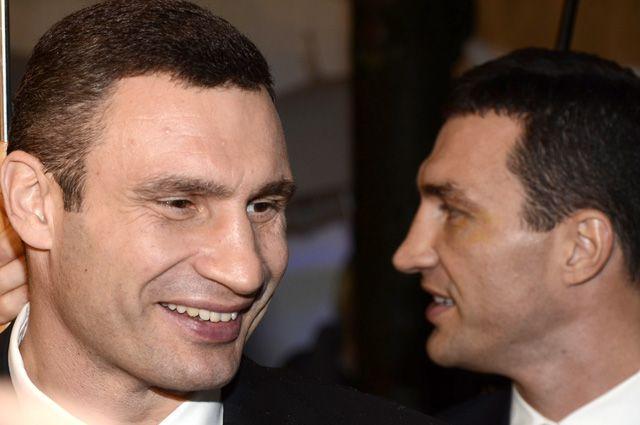 Братья Кличко.