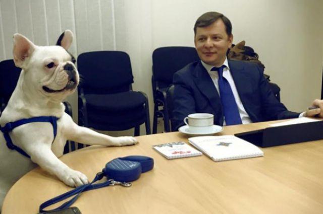 Олег Ляшко и Иван Петрович Лозовой