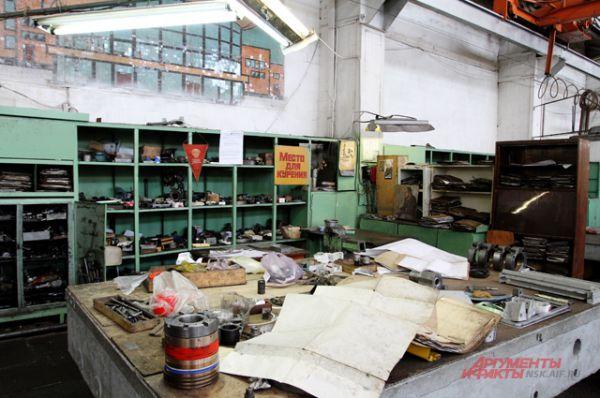 В 1970 году на заводе построили инженерно-лабораторный корпус...