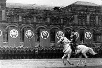 Георгий Жуков на Параде Победы 24 июня 1945 года в Москве.