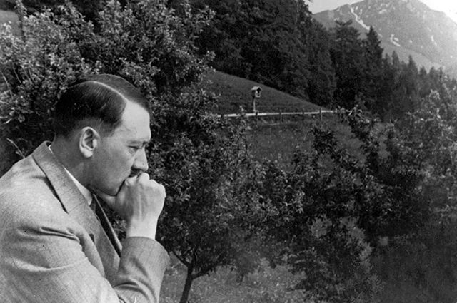Адольф Гитлер в Австрии.