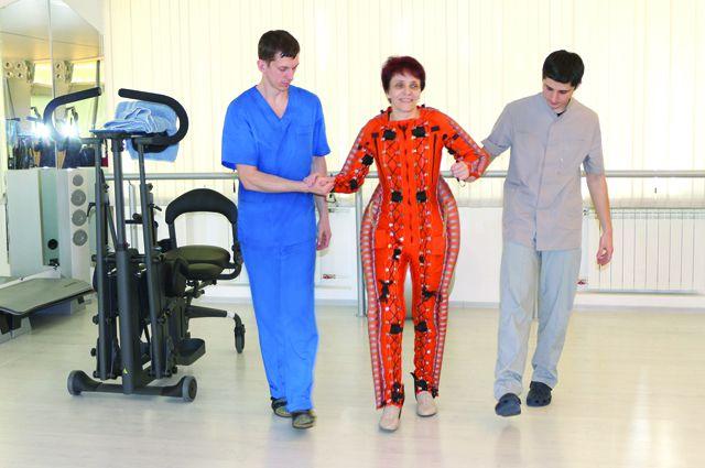 В санаторие помогают больным с ДЦП и рассеянным склерозом.