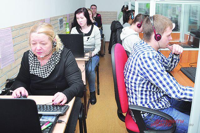 Работу здесь нашли разные люди, в том числе студенты и пенсионеры.