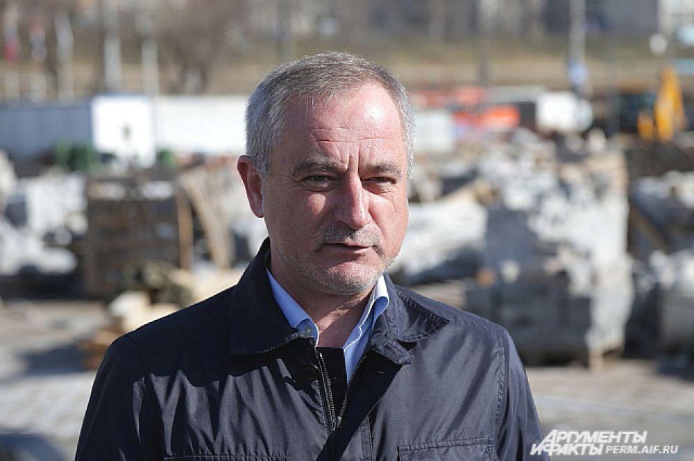 Замглавы администрации Перми Анатолий Дашкевич.