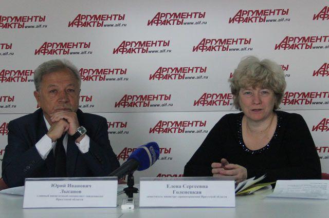 Юрий Лысанов и Елена Голенецкая