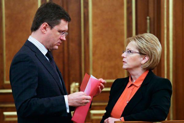 Министр энергетики Александр Новак заработал 16,5 млн рублей, что на 9 млн рублей меньше, чем у его супруги.