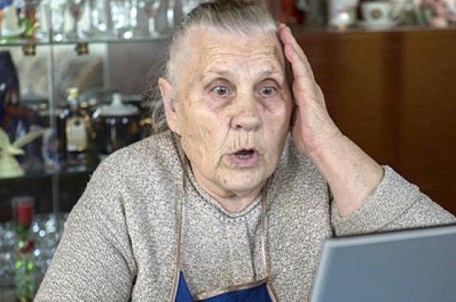 У пенсионерки украли ноутбук и телевизор.