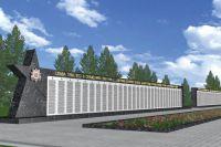 Мемориал состоит из четырёх гранитных стел.