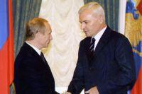 Владимир Путин и Виктор Рашников.
