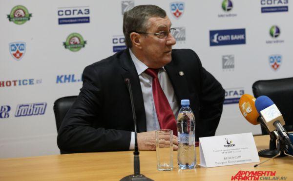 Валерий Константинович играл помог южноуральцам впервые за 65 лет выиграть серебряные медали чемпионата КХЛ.