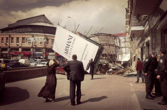 Ураган в Киеве