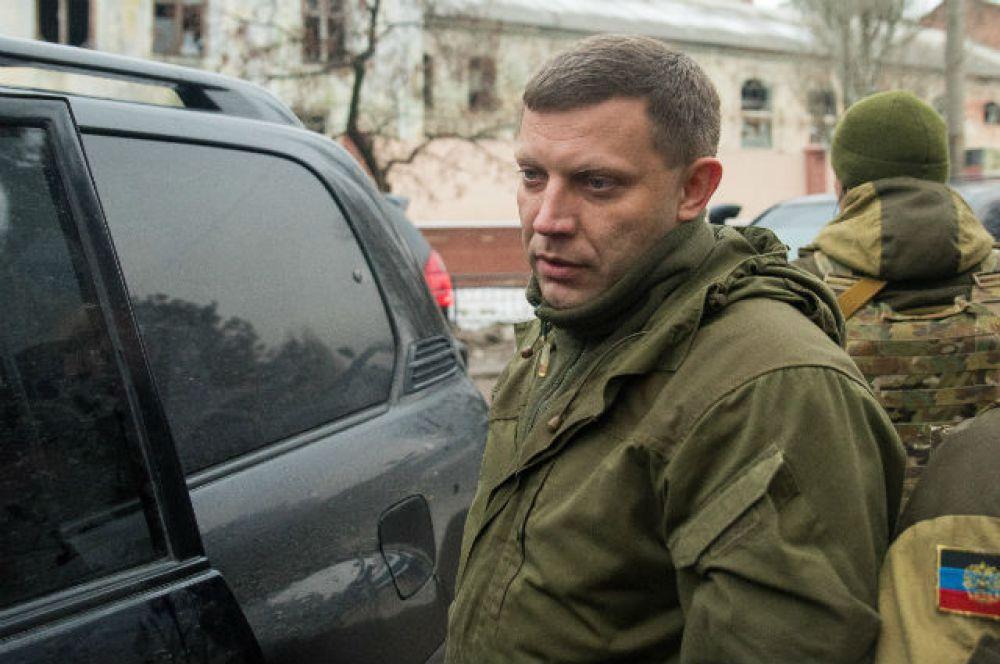 16 апреля. Глава самопровозглашенной Донецкой народной республики Александр Захарченко сообщил о попытке украинских военных прорваться в Донецк.