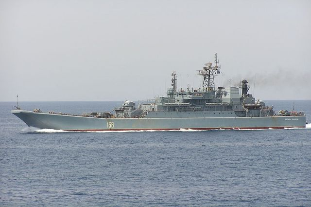 большой десантный корабль ЧФ «Цезарь Куников»