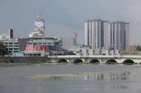 Набережная Челябинска.