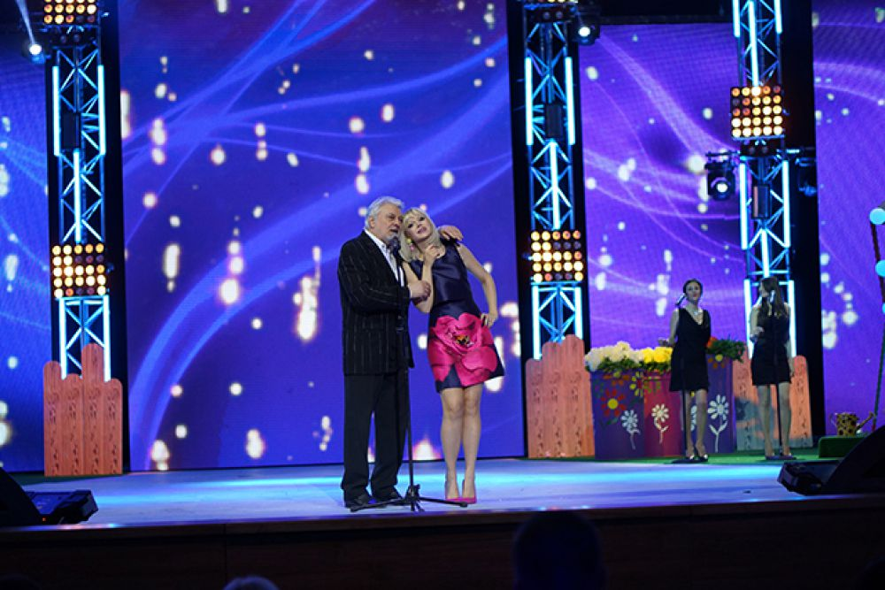 Вячеслав Добрынин и Натали
