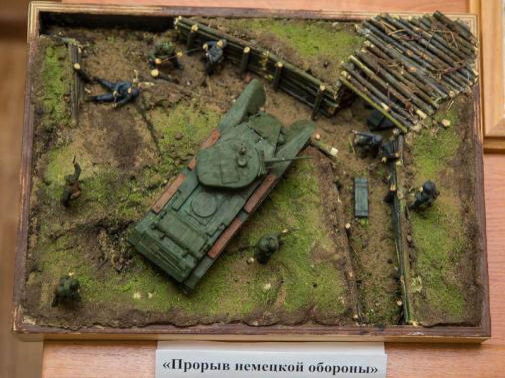 """Миниатюра """"Прорыв немецкой обороны"""""""