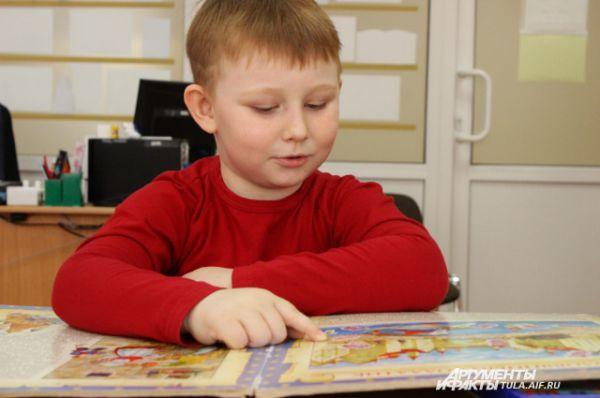 У шестилетнего Тимофея еще много времени до своего Тотального диктанта