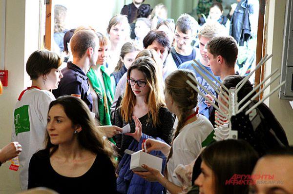 18 апреля в городе работало 28 площадок для диктанта. Одна из самых многочисленных это, конечно же, Новосибирский государственный университет.