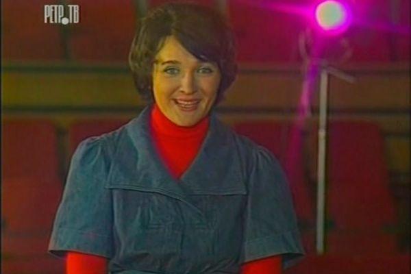 Татьяна Кирилловна, ведущая программы «АБВГДейка». Выходит с 1975 года.