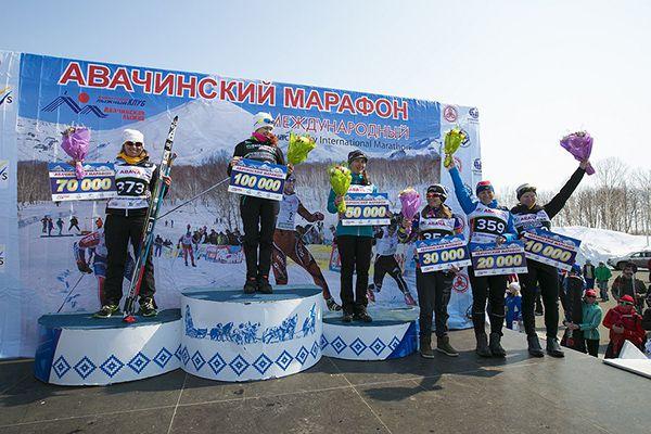 Сильнейшие лыжницы.