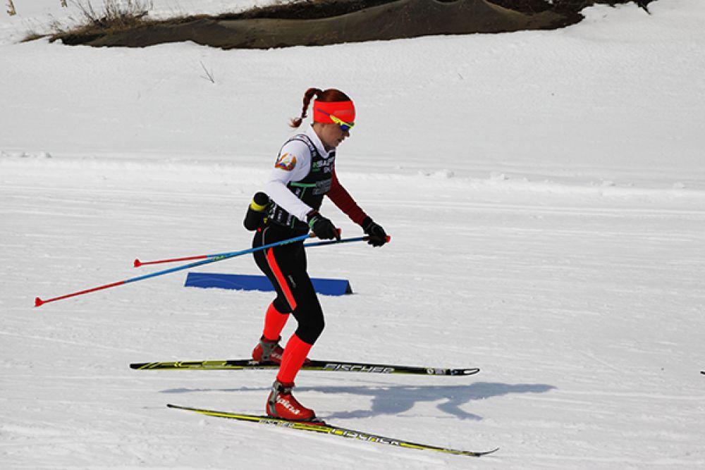 Олимпийская чемпионка польская лыжница Юстина Ковальчик.