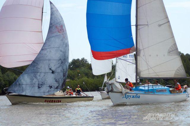 Яхта «Дружба» примет участие в северной регате.